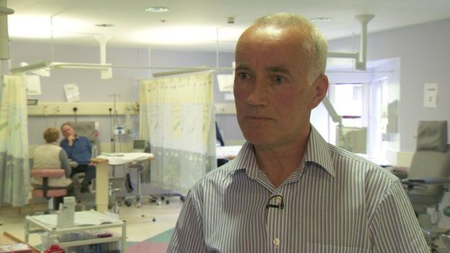 Dr Don Hull said patients in Northern Ireland deserved equal access to cancer drugs available elsewhere in the UK
