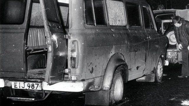 Kingsmill mini-bus