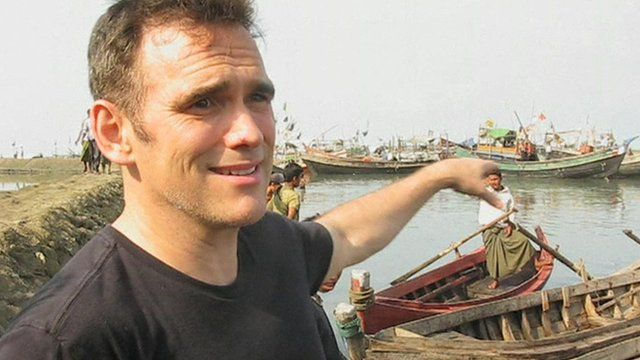 Matt Dillon made the trip to Rakhine state after hearing an appeal from a  Rohingya activist