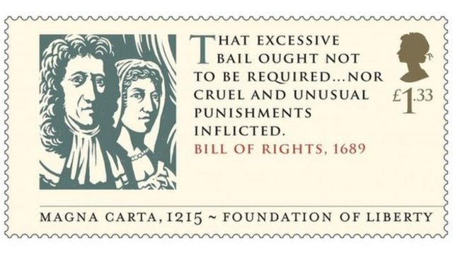 Magna Carta 800th anniversary marked with commemorative stamps