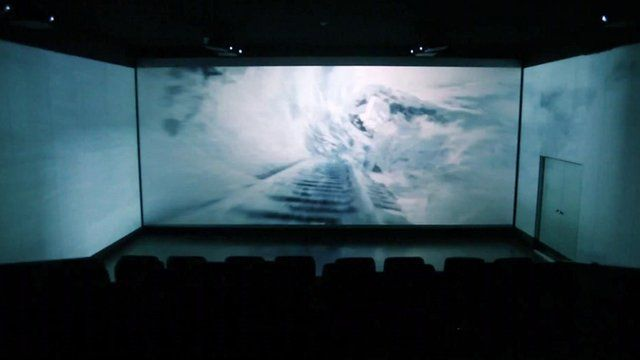 A cinema which offers a 270 degree view