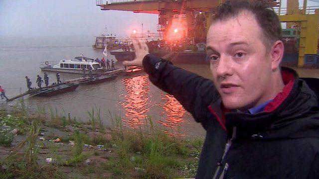 Martin Patience at river bank