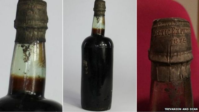 Bottle of 140-year-old Arctic Ale beer sells for £3,300