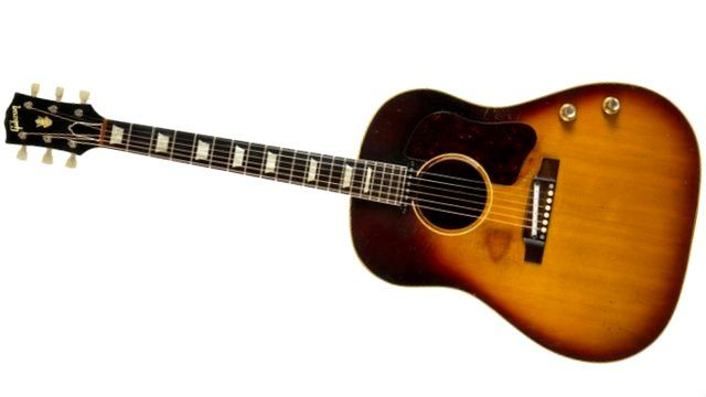 Gibson Guitars For Sale >> John Lennon S Long Lost Gibson Guitar Up For Sale Bbc News