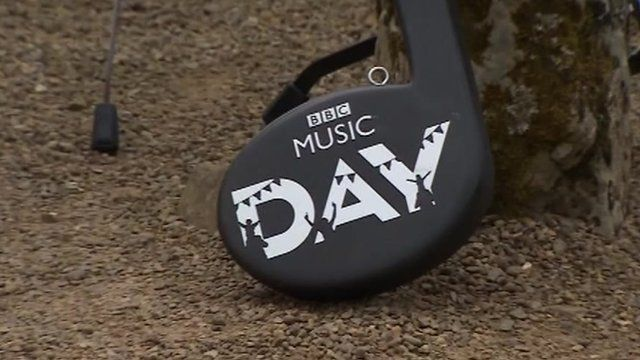 BBC Music day baton