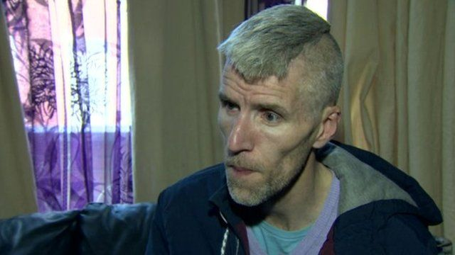 Paul Finlay-Dickson had been due to move to a new house in Cosgrave Heights