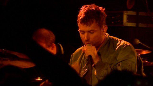 Blur frontman Damon Albarn