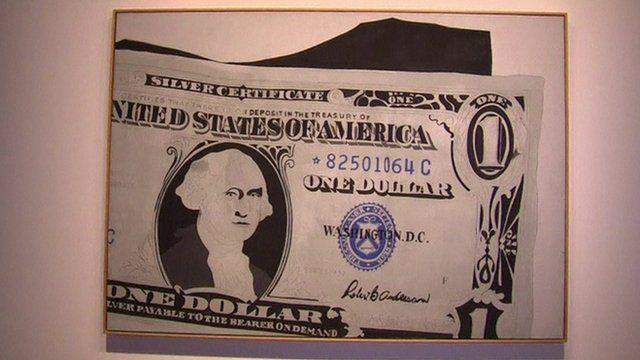 Andy Warhol's 'One Dollar Bill (Silver Certificate)'
