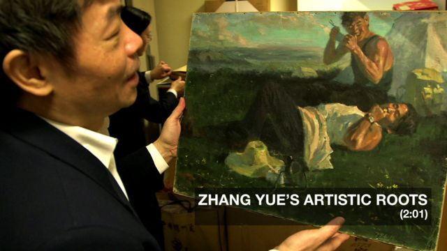 Zhang Yue and his art