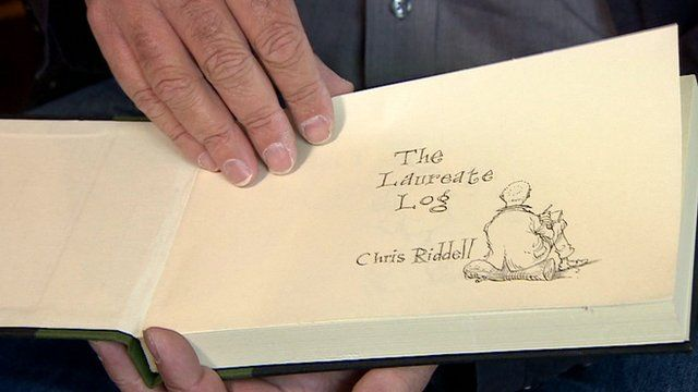 Chris Riddell's Laureate Log