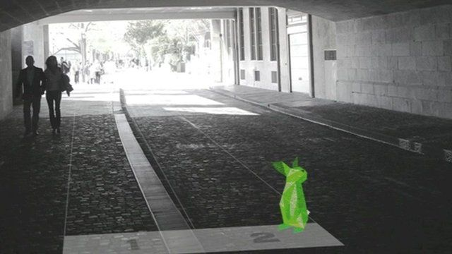 A computer-generated concept video shows people what to expect from the project