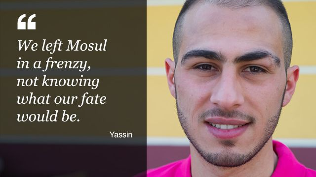 Yassin, originally from Mosul, Iraq