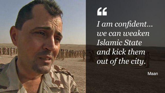 Maan Ajaj, a Christian army commander