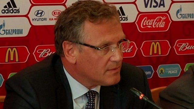 FIFA Secretary General, Jerome Valcke