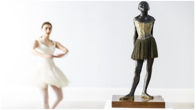 Iconic Degas ballet dancer sculpture to be sold