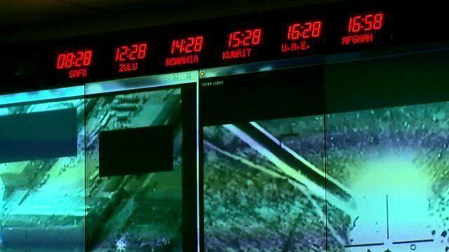 Command centre screen