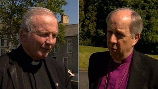 Bishop of Derry Donal McKeown and Church of Ireland Bishop of Derry and Raphoe Ken Good both appealed for information