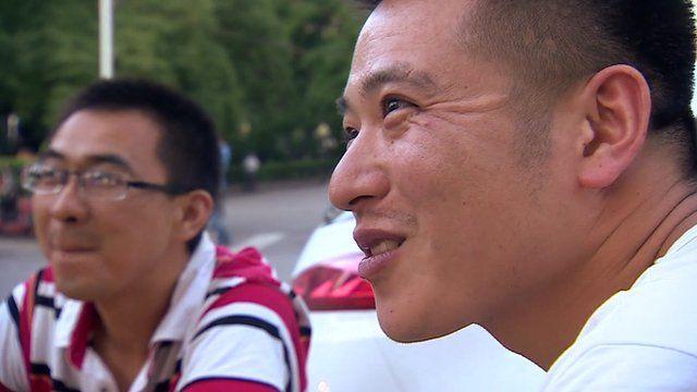 Men in Beijing