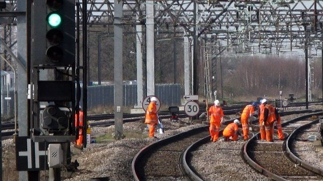 Network Rail workers