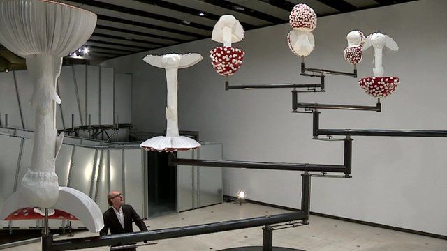 Carsten Holler installation