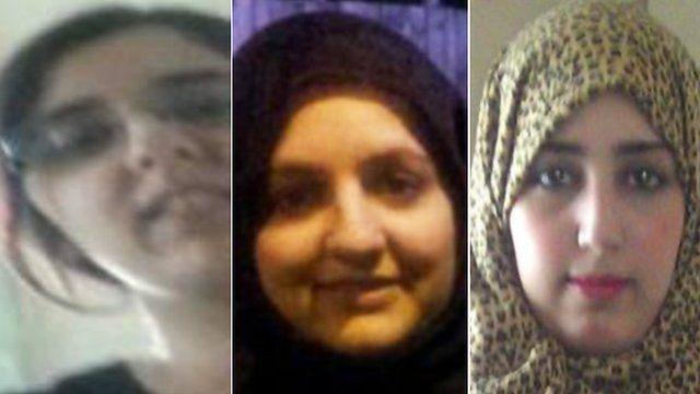 Sugra Dawood, Zohra Dawood and Khadija Dawood