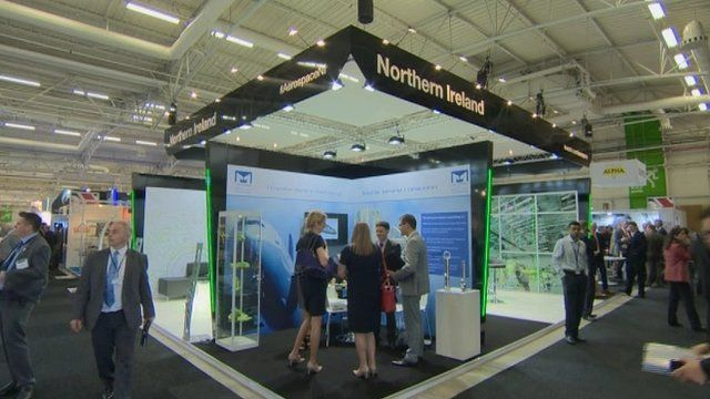 Northern Ireland manufacturing firms attend Paris air show