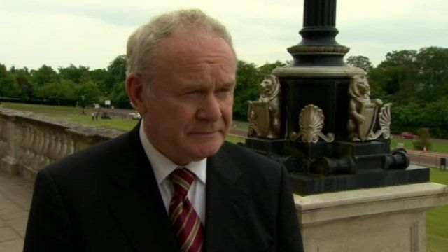 """Northern Ireland Deputy First Minister Martin McGuiness called the deaths """"heartbreaking."""""""