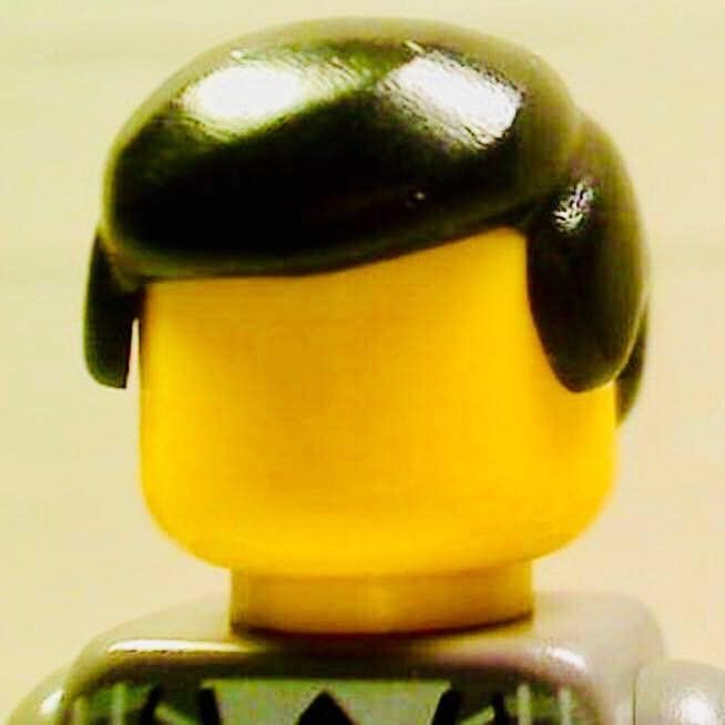 Lego man without a face