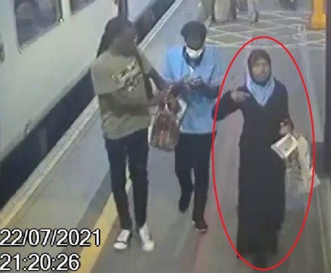 CCTV footage of Fatuma Kadir