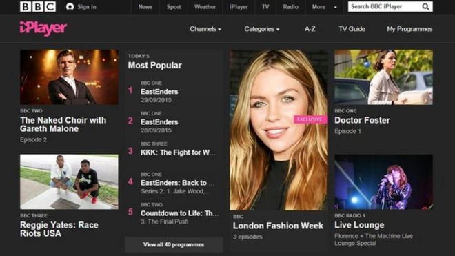BBC iPlayer moves away from Flash and towards HTML5 - BBC News