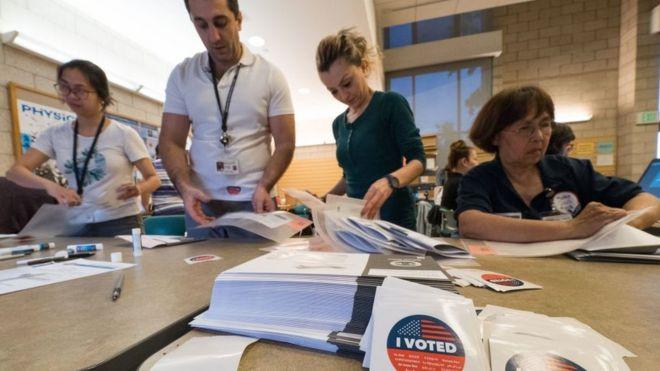 Mỹ, bầu cử