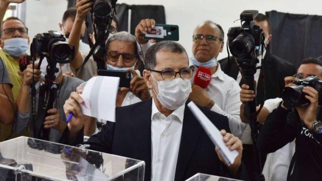 مني حزب العدالة والتنمية المغربي وزعيمه سعد الدين العثماني بهزيمة انتخابية ثقيلة