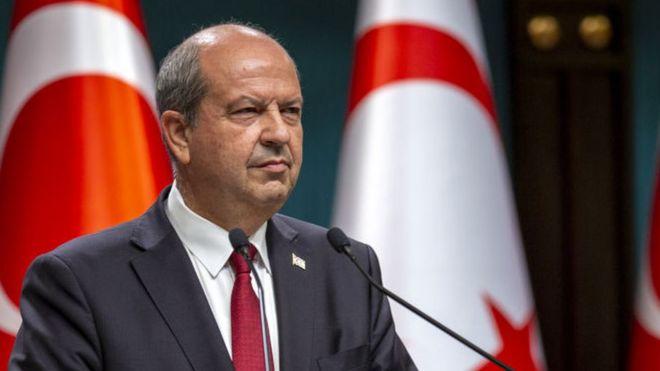 Kuzey Kıbrıs Başbakanı Ersin Tatar,