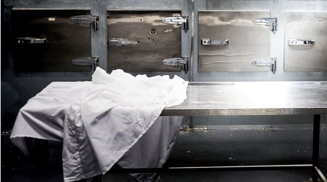 'Dead' Woman Found Alive in South Africa Morgue Fridge. Image Shutterstock