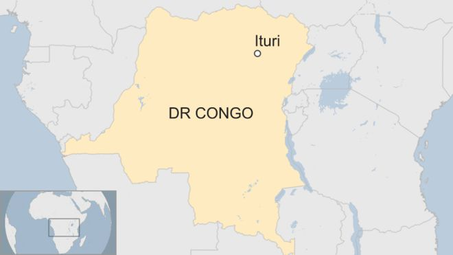 DR Congo violence: Dozens killed in Ituri province   BBC News