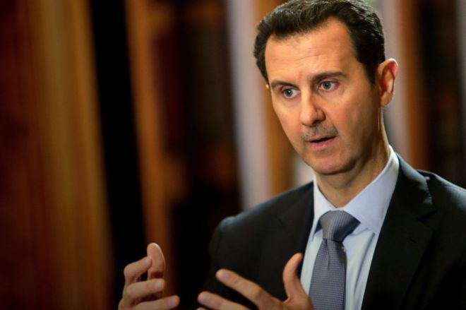 syrian president bashar al assad facing down rebellion bbc news