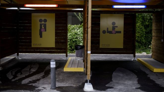 Switzerland in sex booths