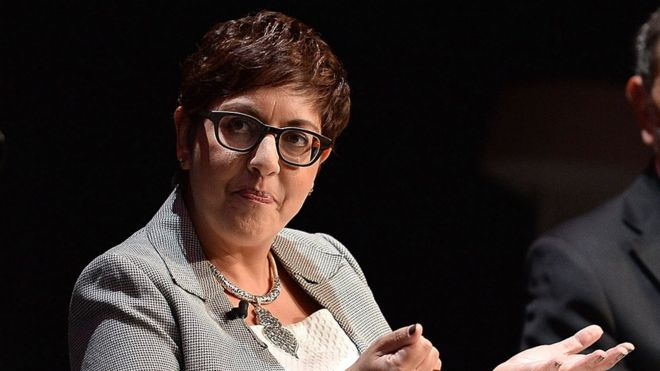 Benita Mehra at conference in 2017