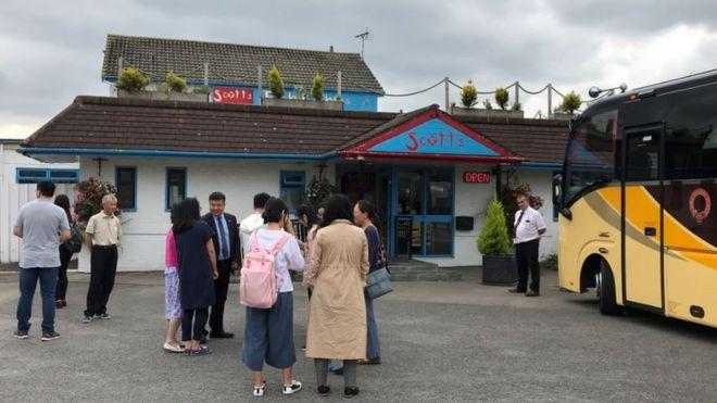 這家受到中國遊客熱捧的餐廳位於約克市附近
