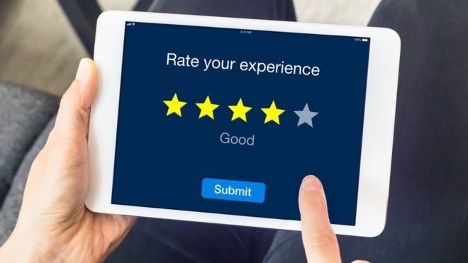 Fake five-star reviews being bought and sold online - BBC News
