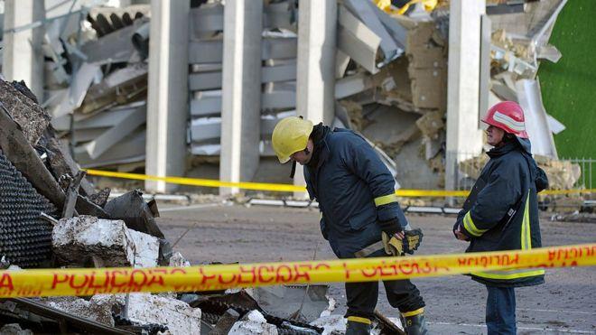 Обрушение торгового центра в Риге: оправданы 8 из 9 обвиняемых