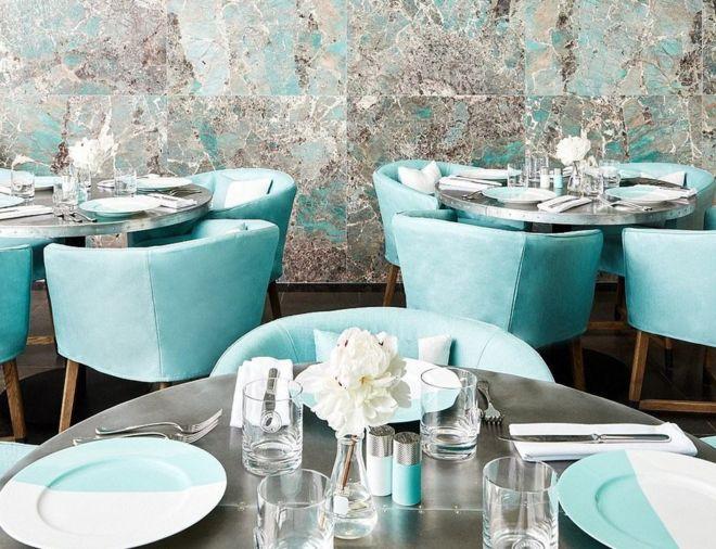 4177edb6a183 Breakfast at Tiffany s  New York jewellery store opens cafe - BBC News