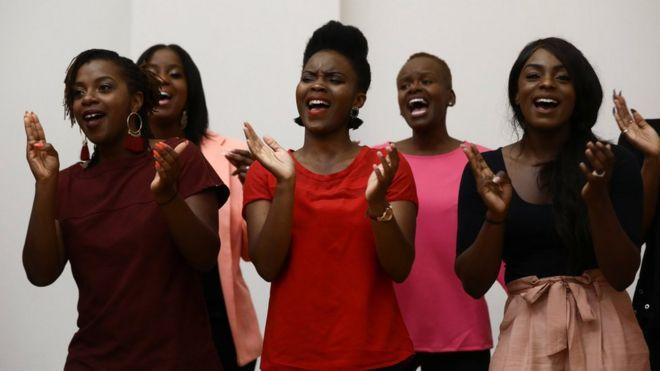 Gospel Choir At Royal Wedding.Royal Wedding Choir The Kingdom Choir Sign Sony Record Deal