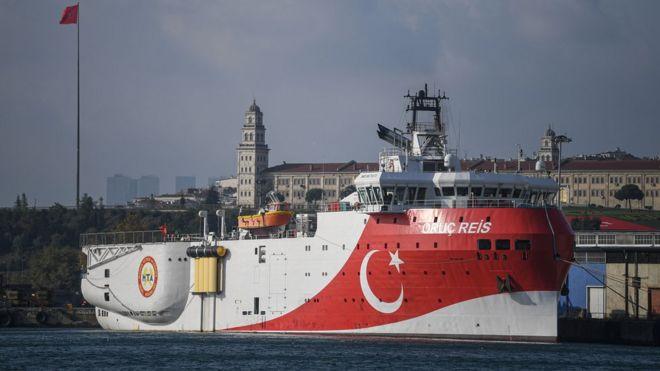 File pic of Oruc Reis ship