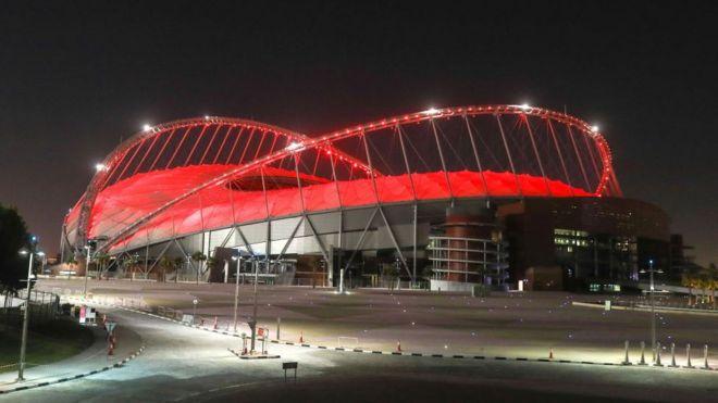 Estadio Khalifa, Qatar