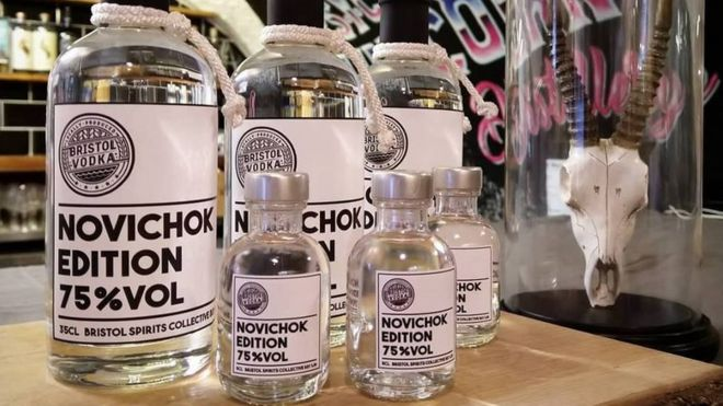Image result for Novichok vodka