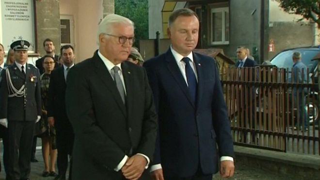 Вторая мировая: президент Германии попросил прощения у поляков за тиранию нацизма