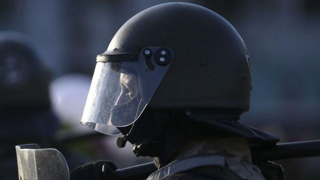 Белорусский силовик 11 августа 2020