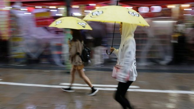 Two Die As Typhoon Lan Hits Japan