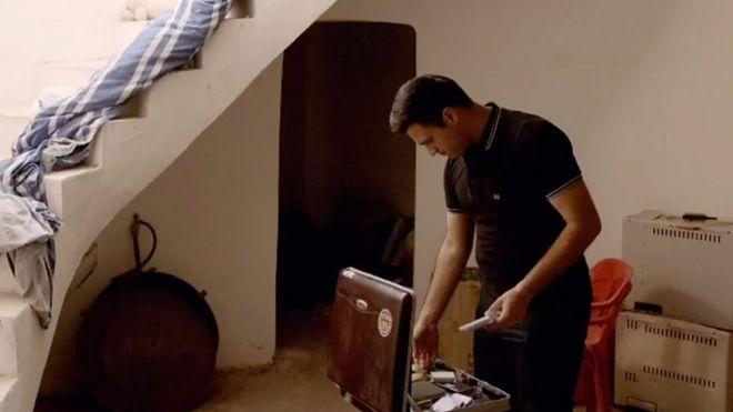 عبدالله چمدان فیلمهای پدرش را پیدا کرد
